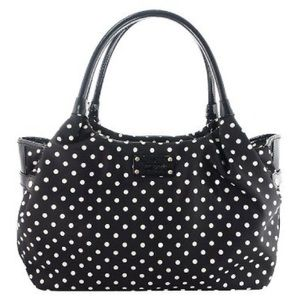 ♠️ Kate Spade ♠️ Polka Dot Stevie Diaper Handbag